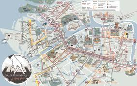 Transport Map Saint Petersburg Transport Map
