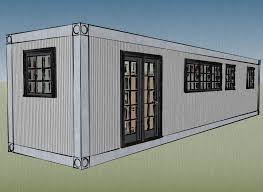 small scale homes 8x40 shipping container home design