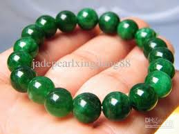 bangle bracelet beads images 2018 natural emerald green beads bangle bracelet necklace 8mm from jpg