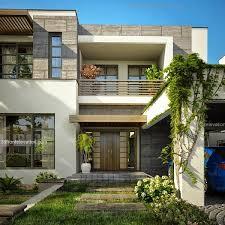 plan of houses in pakistan Fachadas Pinterest