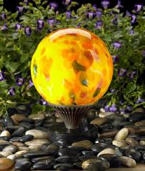 12 Inch Glass Gazing Balls Request A Quote Nightorbs Nightorbs