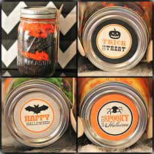 halloween tableware halloween mason jar labels free printables