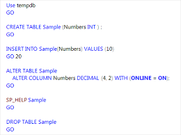 Oracle Drop Table If Exists Sql Server 2016 T Sql Features Add To Dbcc Checkdb And More