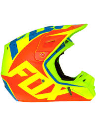 motocross helmets australia fox yellow blue 2017 v2 nirv mx helmet fox freestylextreme