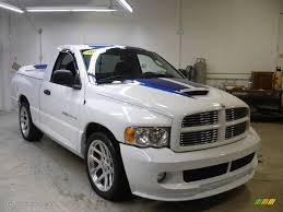 2005 bright white dodge ram 1500 srt 10 regular cab 25999689