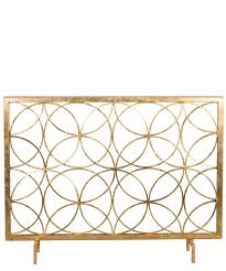 remove brass fireplace screen clean paint 1503 interior decor