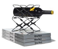 amazon com metrokane houdini expandable wine rack wine bottle