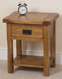Oak Side Table Cotswold Solid Oak L Side Table 61 X 41 X 50 Cm Co
