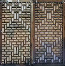 wood lattice wall architecture mountain folkcraft