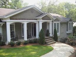 Ranch Style Home Designs Front Porches For Ranch Style Homes Modern Home Design Porches