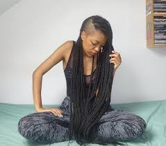 half shaved with braids pin by oreoluwa on locs pinterest beautiful braids undercut and
