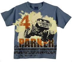 truck birthday t shirts for toddler boys