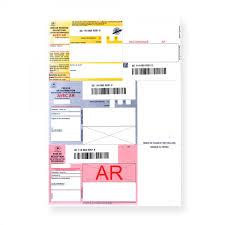 code bureau de poste recommandés a4 avec accusé réception et avec code à barres