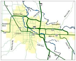 map of oregon eugene eugene oregon road and traffic cams