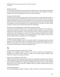 debriefing report template appendix c glossary of terms final research report a page 170