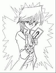 fabulous yugi oh coloring pages with yugioh coloring pages