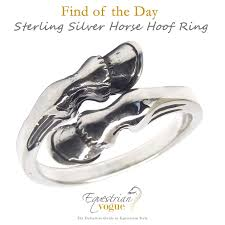 ebay rings silver images Find of the day sterling silver horse hoof ring style reins jpg