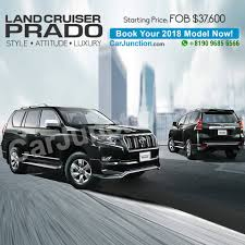 land cruiser prado car used toyota land cruiser u2013 car junction pakistan