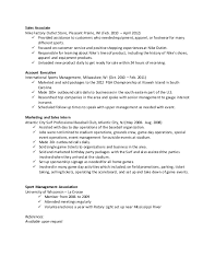 Resume For Shoe Sales Associate Maxx Daniels Resume