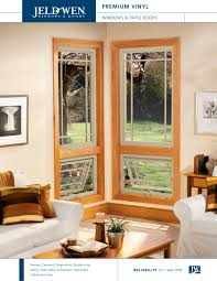 Jeld Wen Premium Vinyl Windows Inspiration Premium Vinyl Windows And Patio Doors Jeld Wen Pdf Catalogues