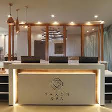 spa reception desk the front reception desk spa reception desk white