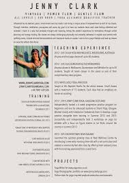 Resume About Me Examples by Download Yoga Resume Haadyaooverbayresort Com