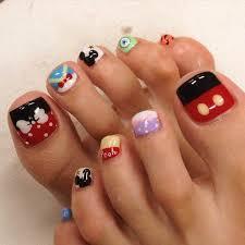 a glimpse inside 10 summer toenail designs