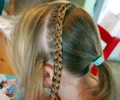 hair braid across back of head hairdo how to braid with half dutch headband