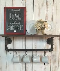 Black Pipe Bookshelf Industrial Kitchen Shelf Black Pipe Shelf Kitchen Shelf Coffee
