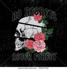 skull and roses stock images royalty free images vectors