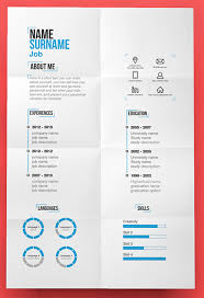 Resume Creative Simple Decoration Cute Resume Templates Enjoyable Inspiration