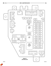 96 jeep grand fuse panel diagram jeep grand 1993 1998 fuse box diagram cherokeeforum