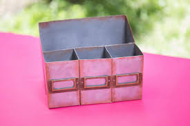 Pink Desk Organizers And Accessories by How To Make A Faux Metal Desk Organizer Out Of Cardboard Hgtv