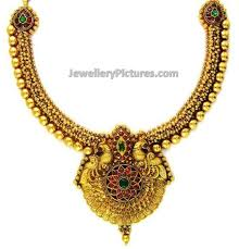 gold necklace new design images Indian gold necklace designs catalogue jewellery designs jpg
