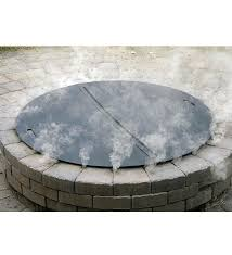 Outdoor Firepit Cover Wire Mesh Lids Cover For Firepits Home Heavy Duty Steel