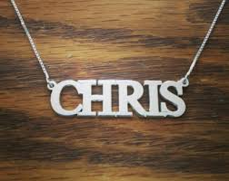 brand name necklace images Name tag necklace etsy jpg