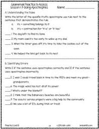 grammar worksheets and tests grade 6 no prep printables by lovin lit
