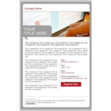 professional seminar email templates business email campaign