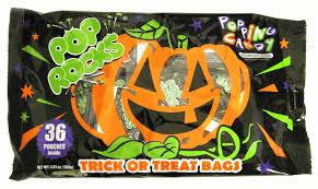 pumpkin pop rocks halloween bags 36ct
