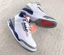 jordan shoes black friday nike air jordan 3 og true blue 2016 sneakerfiles