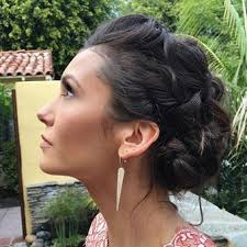hairstyles golden globes how to get nina dobrev s golden globes hair more com