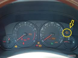 2003 cadillac cts check engine light engine silhouette appears on the board