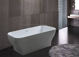 refreshing freestanding soaker tub on bathroom with details about
