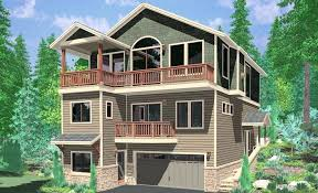 steep hillside house plans hillside cottage plans steep slope house plans hillside home