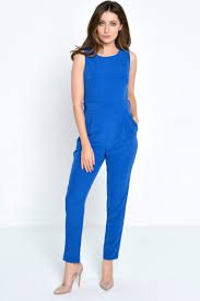 jumpsuit in marc angelo serenity jumpsuit in royal blue iclothing