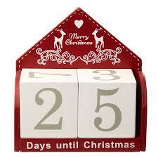christmas calendar christmas countdown block calendar 5050544239737 ebay