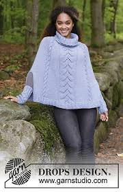 drops design poncho ravelry 184 30 a fleetwood poncho pattern by drops design