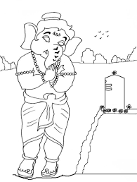 coloring pages for ganesha coloring pages