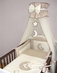 luxury baby canopy drape holder 480cm width fit cot bed moon