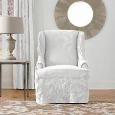 slipcover wing chair wing chair slipcover ebay